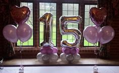 balloon numbers and letters - Google Search