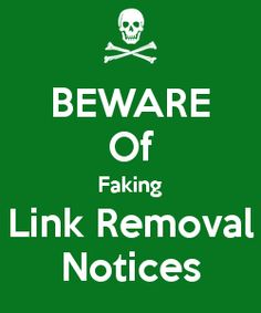How you will see if link removal email is sent by the domain owner or is real request? You need to determine if it's not sent by the competitor to downgrade your rankings in purpose of getting removed quality links #seo #linkremoval @megrisoft