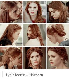Holland Roden as Lydia Martin