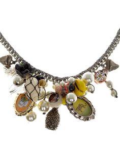 Venessa Arizaga Silver-Plated Makai Necklace