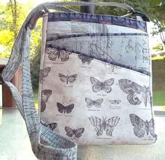 Lombard Street Cross Body Hipster Bag...like the front as an idea design.