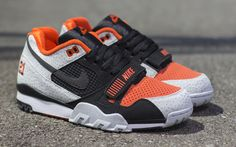 """1894d4dd7eab Nike """"Barry Sanders†Air Trainer 2 Premium QS (Detailed Pictures"""