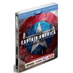 Captain America 3D Blu Ray Steelbook