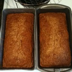 Paula Dean's zucchini bread :)...yummm, I've made banana bread before and it turned out great, so now this is my next bread on the list.