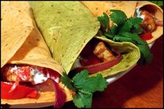 Reggae Wraps Recipe