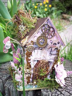 Steampunk Fairy House