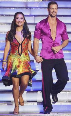 Dancing With The Stars Season 14 Spring 2012 William Levy and Cheryl Burke Cha Cha Cha