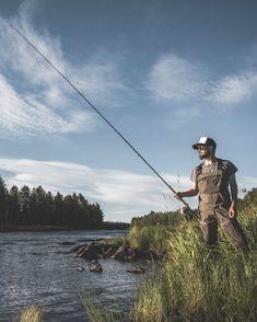 Flyfishing Photography. Fishing in Finland.