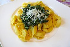 Tortellini mit cremiger Spinat-Gorgonzola Soße 1