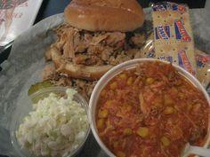 Hambones BBQ and Chapman Drugs, Hapeville GA   Marie, Let's Eat!