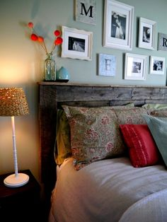 20 DIY Headboards - Click image to find more Home Decor Pinterest pins