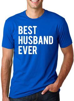 Best Husband Ever T Shirt Funny Wedding Married Man Tee Gift XL