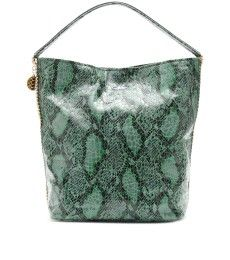 SNAKE PRINT HOBO BAG by Stella McCartney Stella Mccartney Handbags, Python  Print, Chain Shoulder b5119cb240