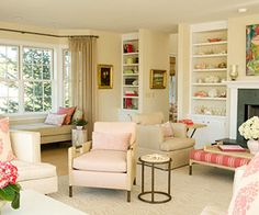 House Tours: Seashell Pink Weekend Retreat