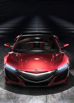 2016 Acura NSX - Provided by MotorTrend