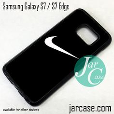 Nike Black Ideal Phone Case for Samsung Galaxy S7 & S7 Edge