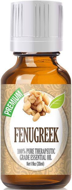Fenugreek Essential Oil has a mild, bittersweet aroma. Botanical Name: Trigonella foenum