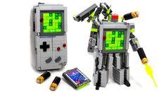 Lego. Gameboy. Transformer. All-In-One!