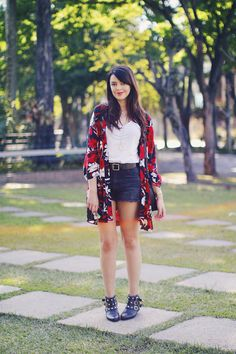 Look do dia: Short e quimono | Just Lia http://www.justlia.com.br/2015/09/look-do-dia-short-e-quimono-2/