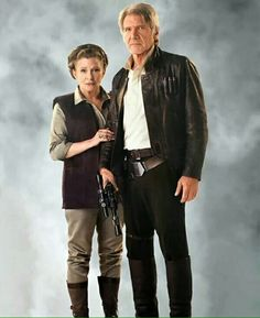 Han Solo and General Leia Organa - Star Wars