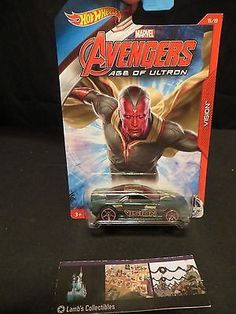 Vision Muscle Tone Avengers Age of Ultron Hot wheels 5/8 die cast car