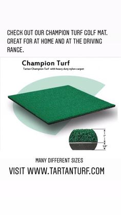 in North America. We use only high quality materials to ensure durability and shock resistance. Golf Mats, Nylon Carpet, North America