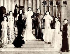 1930s Shanghai fashion show
