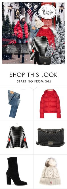 """Winter Season 2017 / Puffer Jacket"" by mrswomen ❤ liked on Polyvore featuring Calvin Klein Jeans, Moncler, Chanel, Alexander Wang and Moncler Grenoble"