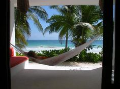 Cabanas Tulum: View from the room. Lovely!