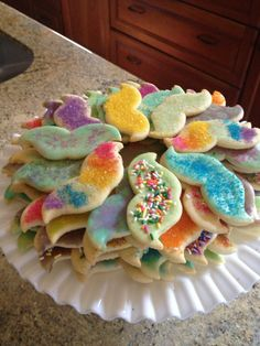 Mustache party cookies