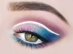 Stargazer new Pastel Glitter in lilac was used here on the upper lid