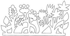 Discussion on LiveInternet - Russian Service Online Diaries Crafts To Make, Crafts For Kids, Paper Art, Paper Crafts, Pop Up Cards, Digi Stamps, Kirigami, Silhouette Design, Spring Crafts