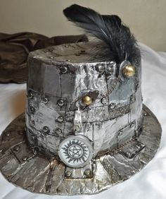 Diy Duct Tape Steampunk Top Hat #howto #tutorial