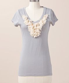 Take a look at this Moon Lovely Leaves Top by Down East Basics on #zulily today!