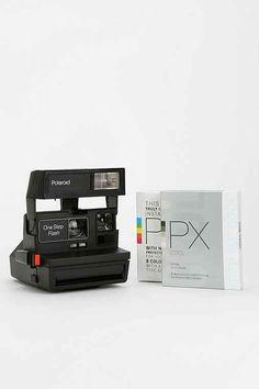 Old School Polaroid + Film $180