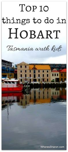 This is a beautiful port town. Our top 10 things to do in Hobart Tasmania with kids Tasmania Road Trip, Tasmania Travel, Places To Travel, Travel Destinations, Places To Visit, Travel With Kids, Family Travel, Family Vacations, Dream Vacations