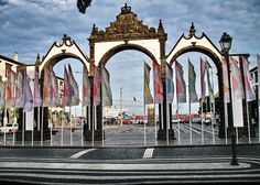 Portas da cidade (doors to the city) SAO MIGUEL (AZORES ISLANDS)