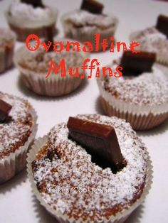 Cakes, Cookies and more: Ovomaltine Muffins Cupcakes, Cake Cookies, Cupcake Muffin, Oreo, Sweet Lord, Sweet Desserts, Bakery, Food And Drink, Favorite Recipes