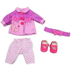 "Baby Alive One Size Fits All Outfit - Bunnies and Bows -  Funrise - Toys""R""Us"