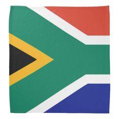 Flag Of South Africa Bokke Bandana