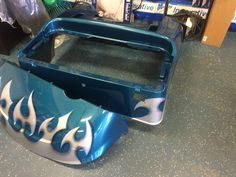 Just in....freshly, custom painted golf cart bodies from our painter!!!!