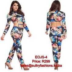EOJS-1 ➟ PRICE: R299 ➟ SIZES: XS/S 6-8, S/M 8-10, M/L 10-12 ➟ sales@sultryfashions.co.za