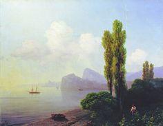 Вид Судакской бухты. 1879 - Айвазовский Иван Константинович