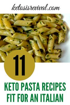 Ketosis Revival is showcasing 11 Keto pasta recipes that are even fit for an Italian, and the will keep the Italian fit!  You don't have to miss out on having your favorite Italian dishes when losing weight. What a delightful surprise!  This diet sometimes seems counterintuitive, but who is complaining when you can eat your favorite delicious foods. The recipes are easy, low carb, and includes the delicious alfredo sauce.  Get started by downloading here.  #ketopasta #ketoitalian… Keto Pasta Recipe, Pasta Recipes, Spicy Recipes, Low Carb Recipes, Chips And Salsa, Recipes For Beginners, Italian Dishes, I Love Food, Veggies
