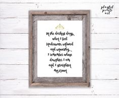 Straighten My Crown Quote Print, 8x10, Instant Download, Printable by playfulprintsart on Etsy Crown Quotes, Childrens Room Decor, Can Design, Blossom Flower, Quote Prints, Things To Know, Decoration, Digital Image, Printables