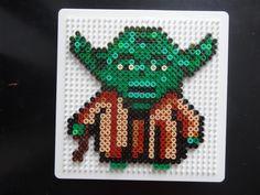 Yoda Star Wars hama beads by hubohu