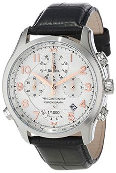 Review - Bulova 96B175 Precisionist Stainless Steel Watch