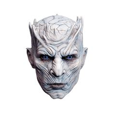 Game of Thrones Halloween Mask Night King Costume White Walker Cosplay for Adult for sale online Game Of Thrones Mask, Costumes Game Of Thrones, Game Of Thrones Halloween, Game Of Thrones Saison, Masque Halloween, Theme Halloween, Halloween Costumes, Halloween Makeup, Halloween 2018