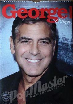 George Clooney Kalendarz na 2014 rok  http://popmaster.pl/