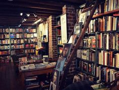 Book Lady Bookstore 6 East Liberty Street  Put away your Kindle and head over to Savannah's most adored used bookstore, nestled quietly beneath Liberty Street. The Book Lady houses more 50,000 books in 40 genres, making it the perfect place to hide away with a gently used edition of your favorite classic novel. The boutique also features other literary comforts such as a reading garden, author events, a book club, a wi-fi cafe and book repair.